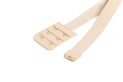 3c19fe9fb7408 Low Back Bra Strap Converter Adjustable Bra Extender 2 Hooks for Backless  Dresses