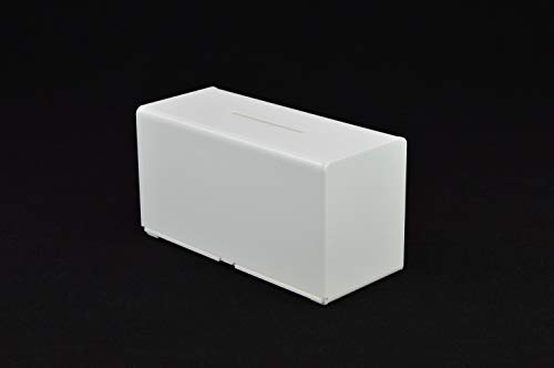Collection Box in Acrylic PDS9458 Black Suggestion Box