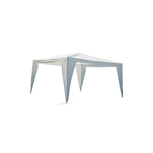 Gazebo pieghevole impermeabile in alluminio 3x3m Verde/Blu/Bianco/Giallo Ocra