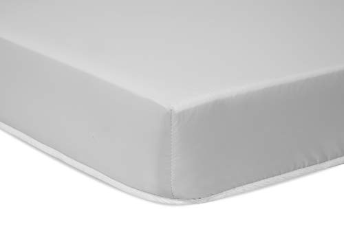 Complete Mini Crib Mattress with Hypoallergenic Waterproof Cover