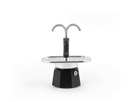 Bialetti Mini Express, cafetera de 2 tazas, aluminio
