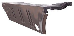 Lh Trunk Floor (Auto Metal Direct 840-1067-L Trunk Floor Extension Drop Off 67-9 Dart LH)