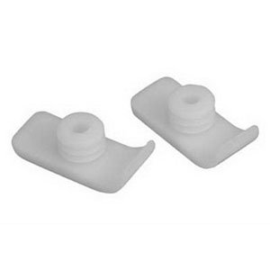 Universal Walker Glides Fits 1 Tubing (1 Pair)