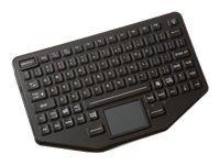 Panasonic iKey Sealed Rubber Backlit USB Keyboard -