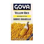 (Goya Yellow Rice Mix Box 8 oz.)
