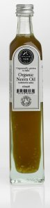 Organic Neem Oil (Azadirachta indica) (1 litres (£43.50/litre)) by NHR Organic Oils