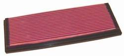K&N ENGINEERING 33-2573 Air Filter; Panel; H-1.125 in.; L-5.813 in.; W-14.938 in.;
