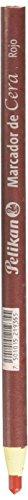 Pelikan 50800103 Marcador de Cera con 10 Piezas, color Rojo