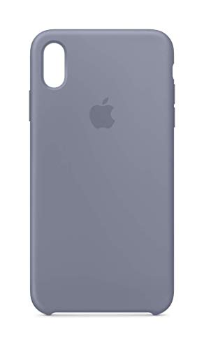 Lavender Apple - Apple Silicone Case (for iPhone Xs Max) - Lavender Gray
