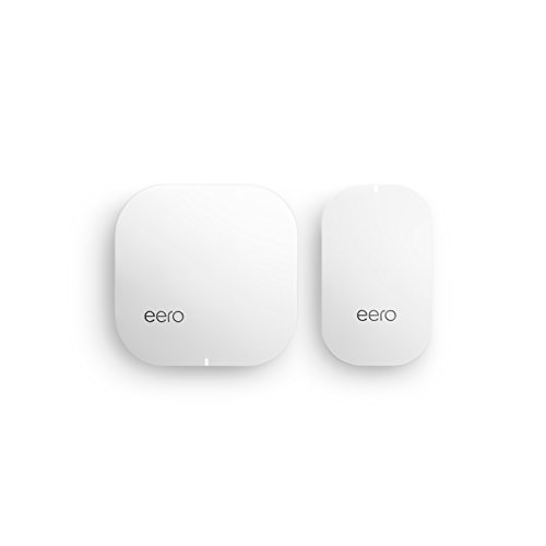 Eero Pro Wi-Fi System (3 Eeros) - Advanced Tri-Band True Mesh Network, Gigabit Speed, Wpa2 Encryption, Replaces Wireless Router and Range Extender, Works with Alexa (2nd Generation)