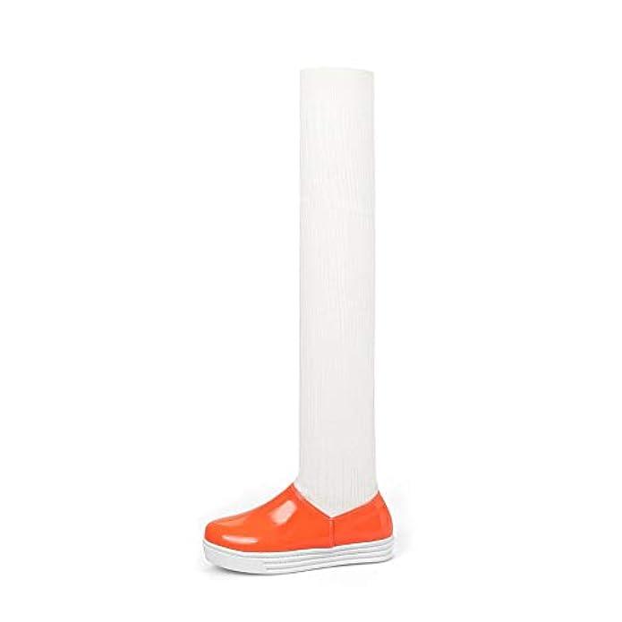 Scarpe E Borse Da Donna Sandali 1to9 Mns03581 Con Zeppa Donna Arancione orange 35