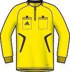 Adidas Schiedsrichtertrikot Gelb Langarm Formotion Clima366, Gr. XXL