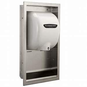 XLERATOR Hand Dryer ADA Compliant Recess Kit #40502 (Dryer not Included)