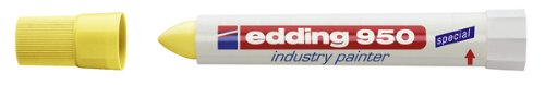 edding 4-950005 Spezialmarker 950 industry painter, 10 mm, gelb