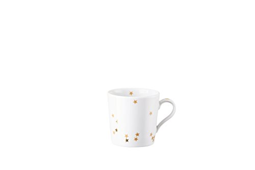 - Arzberg Christmas Espresso Cup, Mug, Mocha Cup, Ristretto Cup, Star Magic, Porcelain, 110 ml, 41970-670867-14722