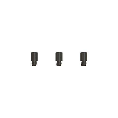 TruBind 1/4-Inch Black Aluminum Screw Post Extensions, 100 Pieces (SPBEXT0104) by TruBind