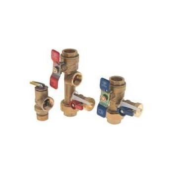 Noritz Tankless Water Heater Isolator Valve Kit Threaded