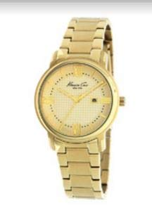 Kenneth Cole New York Gold-tone Bracelet Champagne Dial Women's watch #KC4793