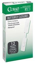 Curad butterfly sterile closure, size : 1 . 75x0.37