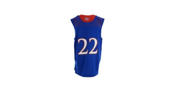 ... official store amazon adidas andrew wiggins 22 kansas jayhawks youth  blue replica jersey s clothing e8663 174f0e8b4