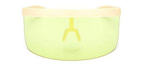inspirées vintage polarisées Lennon métallique Blanc de soleil du C cercle retro lunettes style Cadre rond en 8x0t4Ww