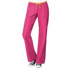 WonderWink Women's Origins Uniform Scrub Pant, Hot Pink, Medium
