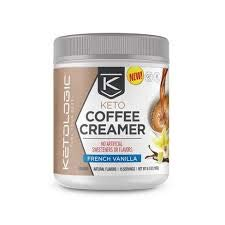 Keto Coffee Creamer, French Vanilla, 6.8 oz (Pack of 2)