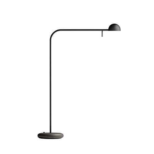 pin-lampe de mesa LED Metal H55 cm negro mate Vibia: Amazon ...