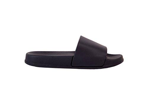 Sandalias Slide Elais J Unisex (mujer) Comfor Indoor / Outdoor Negro