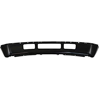 Front Bumper Compatible with 2005-2007 Ford F-250 Super Duty/F-350 Super Duty Black: Automotive