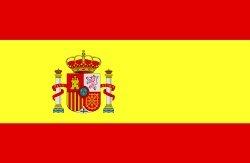 Novelties Direct-Spagna/spagnolo bandiera con Stemma 1, 5x 0, 9m (100% poliestere) con occhielli per appendere China Max