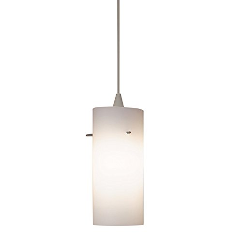 WAC Lighting HTK-F4-454WT/BN Dax Line Voltage Track Pendant, Brushed ()