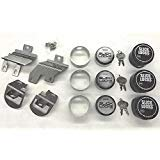 Slick Locks 2014+ Ford Transit Connect Kit Complete with Spinners, Weather covers and Locks
