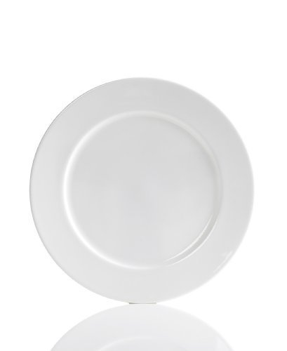 - Hotel Collection Bone China White Round Dinner Plate