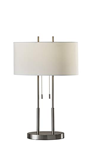 Adesso Round Table Lamp - Adesso 4015-22 Duet 27