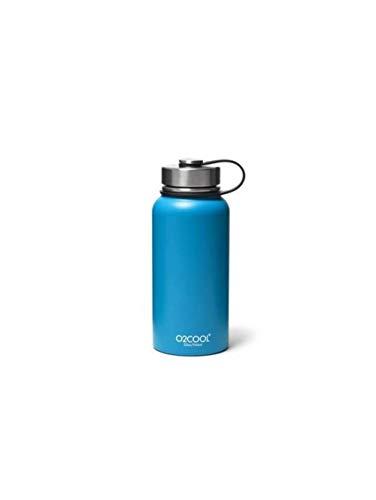 Eddie Bauer Unisex-Adult O2Cool 32-oz Sequoia Bottle, Blue Regular ()