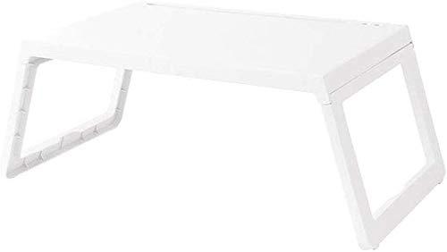 WYJW Laptop Cama Mesa Escritorio Plegable Plástico Desayuno ...