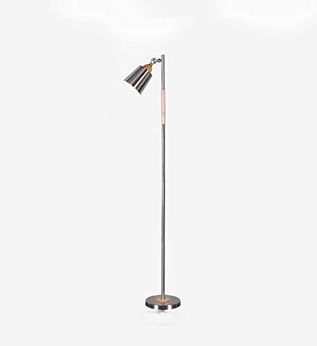 - YWLDD Floor Lamps Floor lamp Study Living Room Bedroom Minimalist Floor lamp European Wooden Vertical Table lamp