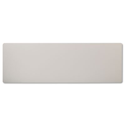 Rectangular Training Table Top Without Grommets, 72w x 24d, Light Gray, Sold as 1 (Rectangular Training Tabletop)
