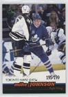 - Mike Johnson #195/199 (Hockey Card) 1999-00 Pacific - [Base] - Jewel Collection Emerald #406