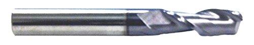 2 Flute 3//4 Flute Length 1//4 Shank HHIP 5806-2500 AlTiN-Coated Solid Carbide Single End Mill 2-1//2 OAL 1//4 Diameter