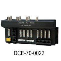 DataComm 1x6 Coax 4x6 Phone 4 Data Module (70-0022)