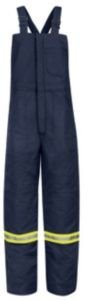 Deluxe Bib Overall - Bulwark Deluxe Insulated Bib Overall, Excel FR ComforTouch, NAVY, RGL
