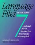 Language Files : Materials for an Introduction to Language and Linguistics, Ohio State University Staff, 0814250033