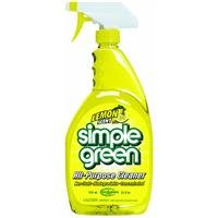 Free Simple Green 14002 Lemon Scent All-Purpose Cleaner, 24oz Trigger Spray