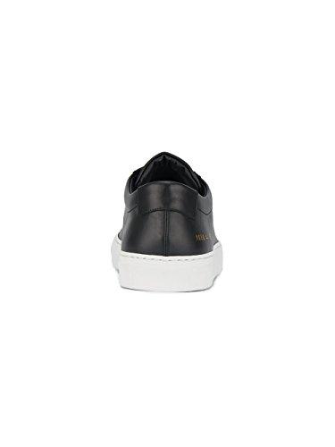 Fælles Projekter Mænd 16587547 Sort Læder Sneakers TcET3MTCL