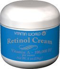 Vitamine mondiale Crème Rétinol, 8 onces, 100 000 UI