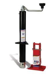 "Fastway 88-00-5165 2-1/4"" Topwind Jack with Automatic Jack Foot"