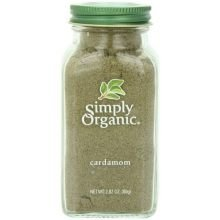 Simply Organic Ground Cardamom, 2.82 Ounce -- 6 per case. by Simply Organic