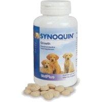 VETPLUS Synoquin Growth Envase con 60 Comprimidos de Suplemento Nutricional para Perros